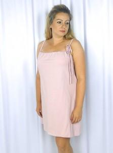 Różowa piżama Equlik