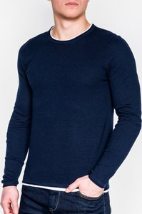 Granatowy sweter Ombre