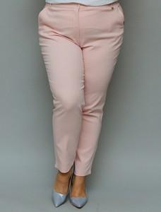 Spodnie KARKO w stylu klasycznym z tkaniny