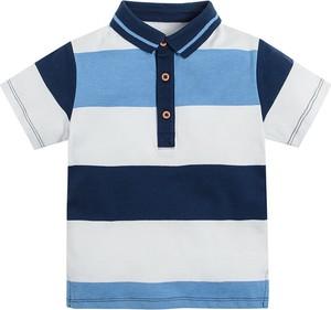 Koszulka dziecięca Cool Club dla chłopców z bawełny w paseczki