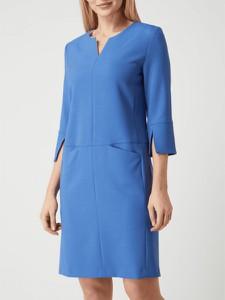 Sukienka S.Oliver Black Label z długim rękawem z dekoltem w kształcie litery v