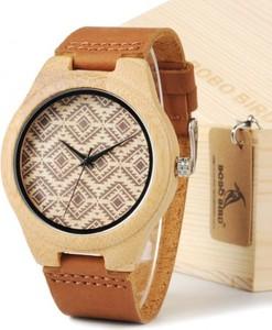 Damski etniczny zegarek drewniany BOBO BIRD