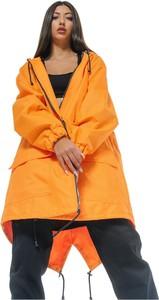 Pomarańczowa kurtka REST FACTORY z tkaniny