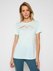 T-shirt Under Armour z okrągłym dekoltem z krótkim rękawem