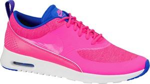 Różowe buty damskie nike air max thea, kolekcja jesień 2019