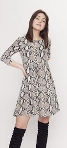 Sukienka Seriously oversize z długim rękawem