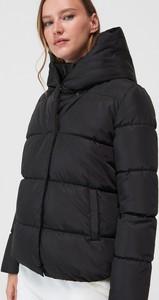Czarna kurtka Mohito w stylu casual