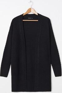 Czarny sweter House w stylu casual
