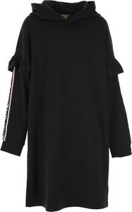 Czarna sukienka dziewczęca Kenzo