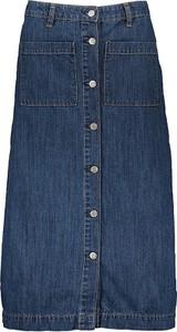 Spódnica Gap w stylu casual z bawełny