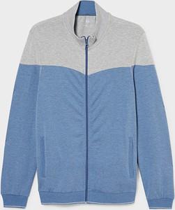 Niebieska bluza C&A z bawełny