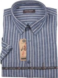 Koszula Aldo Vrandi z bawełny z klasycznym kołnierzykiem w stylu casual