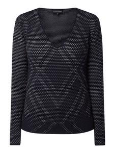 Bluza Emporio Armani w stylu casual krótka z bawełny