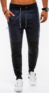 Granatowe spodnie sportowe Edoti