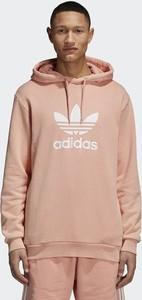 Różowa bluza Adidas Originals w sportowym stylu