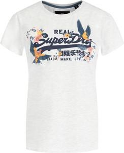 T-shirt Superdry z krótkim rękawem z okrągłym dekoltem