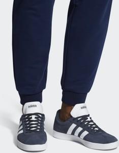Buty sportowe Adidas sznurowane z zamszu