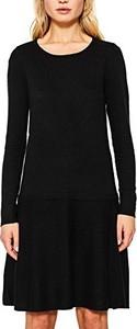 Czarna sukienka esprit