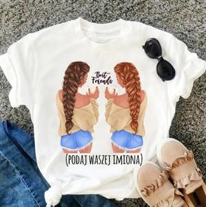 T-shirt Time For Fashion z nadrukiem z bawełny