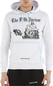 Bluza Ihs z bawełny w młodzieżowym stylu