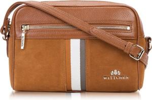 Brązowa torebka Wittchen średnia na ramię