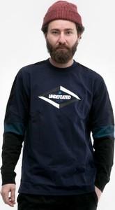 Granatowa bluza Undefeated z bawełny