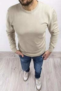 Sweter Risardi z okrągłym dekoltem