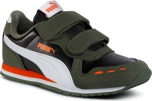 Zielone buty sportowe dziecięce eobuwie.pl na rzepy