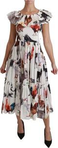 Sukienka Dolce & Gabbana z bawełny