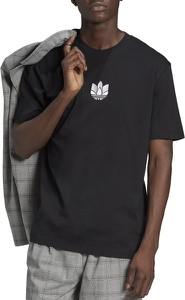 T-shirt Adidas z dzianiny w sportowym stylu