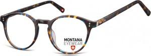 Stylion Okrągłe oprawki optyczne,lenonki korekcyjne Montana MA62C panterka mix