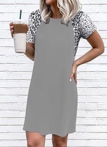Sukienka Sandbella w stylu casual z krótkim rękawem mini