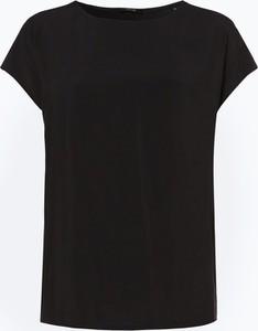 T-shirt Opus z okrągłym dekoltem z krótkim rękawem z tkaniny