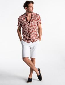 Koszula Ombre_Premium z klasycznym kołnierzykiem z krótkim rękawem