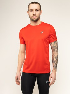 Czerwona koszulka ASICS