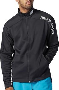 Czarna kurtka New Balance w sportowym stylu krótka