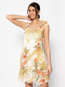 Sukienka Banana Moon z okrągłym dekoltem