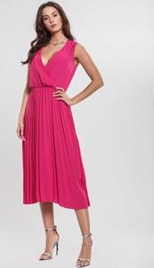 0f9185f124 Niebieska sukienka Renee kopertowa