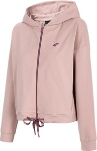 Różowa bluza 4F w sportowym stylu