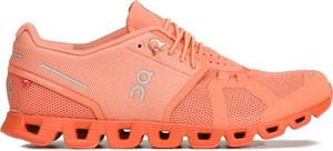 Pomarańczowe buty sportowe On Running sznurowane