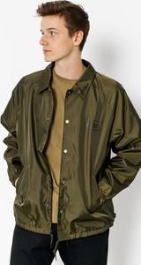 Zielona kurtka Brixton w stylu casual