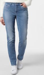 Niebieskie jeansy MAC w street stylu