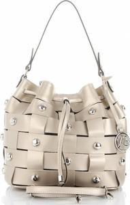 01274e06a8cc2 torebki skórzane złote - stylowo i modnie z Allani