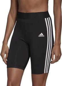 Szorty Adidas w sportowym stylu z dzianiny