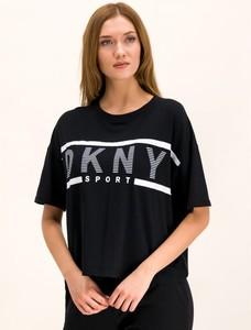 Czarny t-shirt Dkny Sport