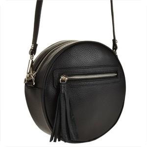 Czarna torebka vezze na ramię średnia