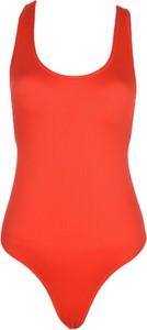 Czerwony strój kąpielowy Trendyol