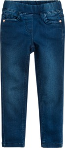 Niebieskie legginsy dziecięce Cool Club z bawełny
