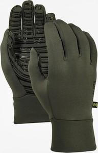 Zielone rękawiczki Burton