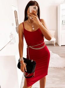 Sukienka Pakuten w stylu casual dopasowana mini